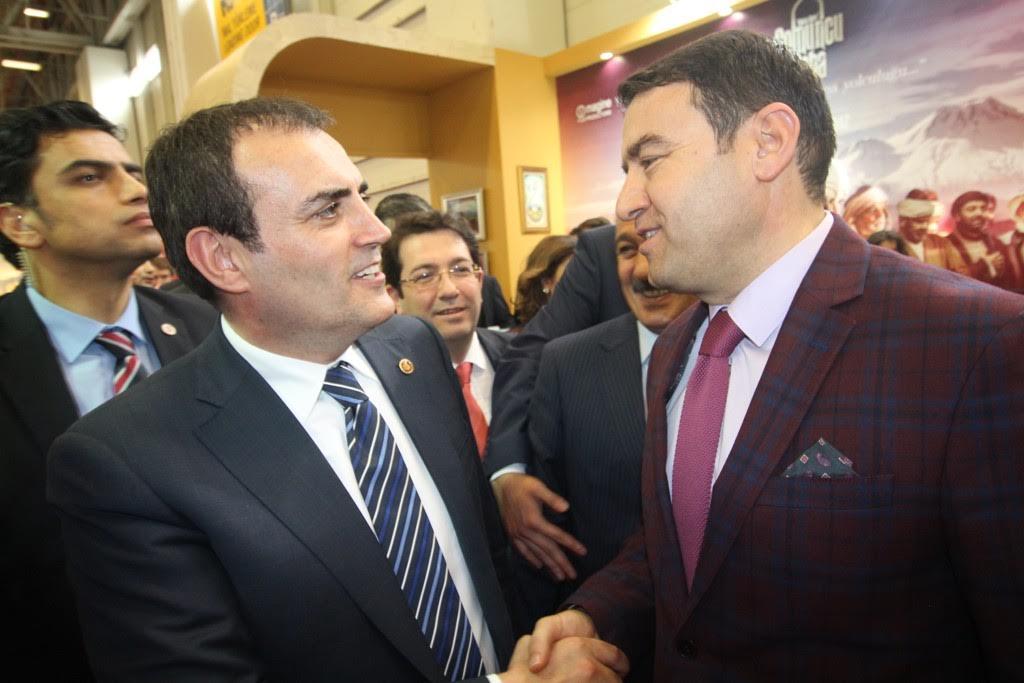 İstanbul EMITT Fuarında Ağrı standına yoğun ilgi
