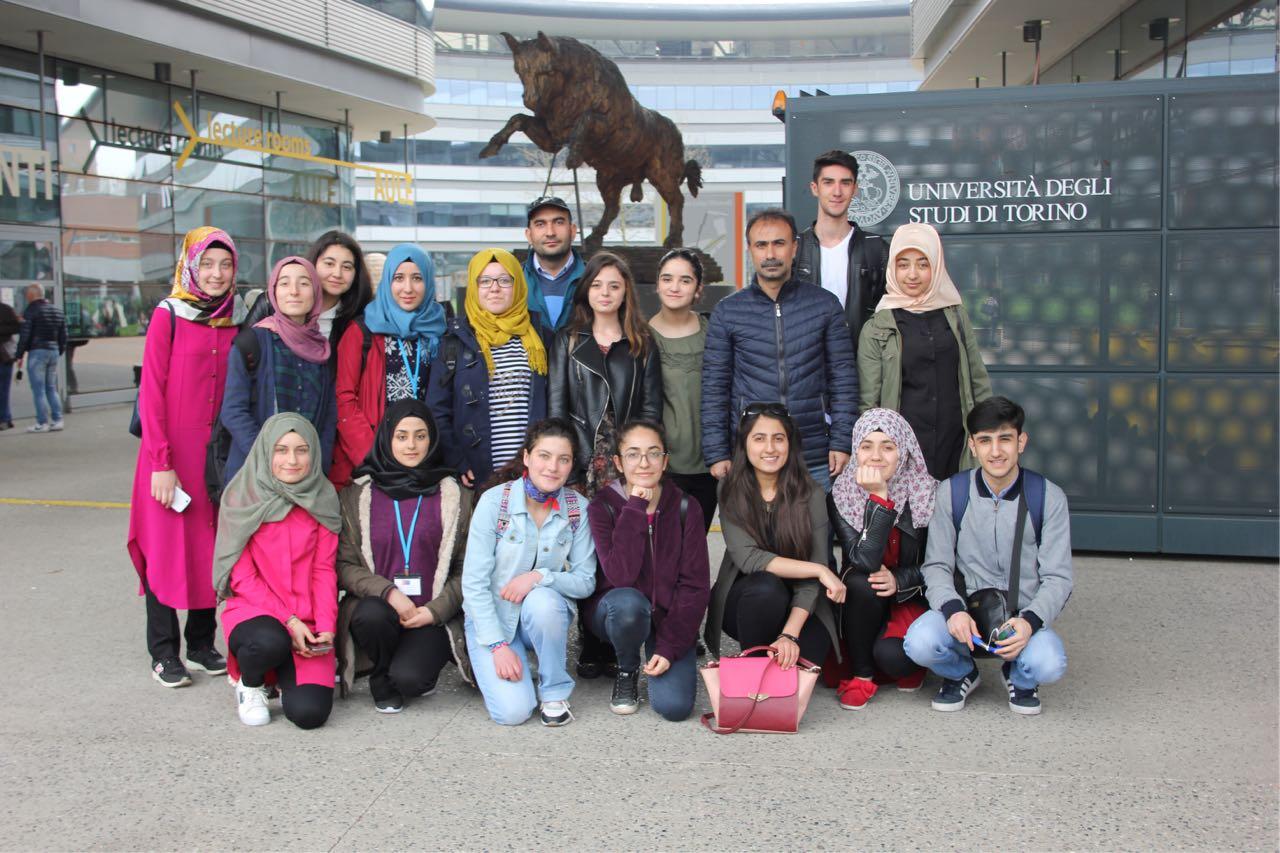Ağrı Mesleki ve Teknik Anadolu Lisesinin Yurtdışı proje başarısı