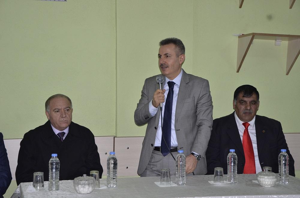 Vali Elban, Cumhuriyet mahallesi sakinleriyle bir araya geldi