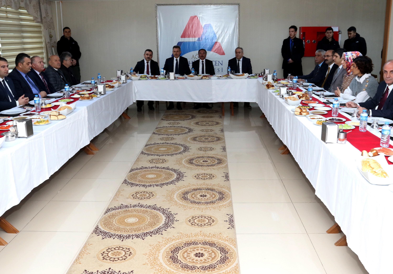 Ağrı İbrahim Çeçen Üniversitesi Danışma Kurulu Toplantısı Yapıldı