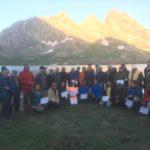 Hakkari Sat Dağları Zirve Tırmanışı başarıyla tamamlandı.