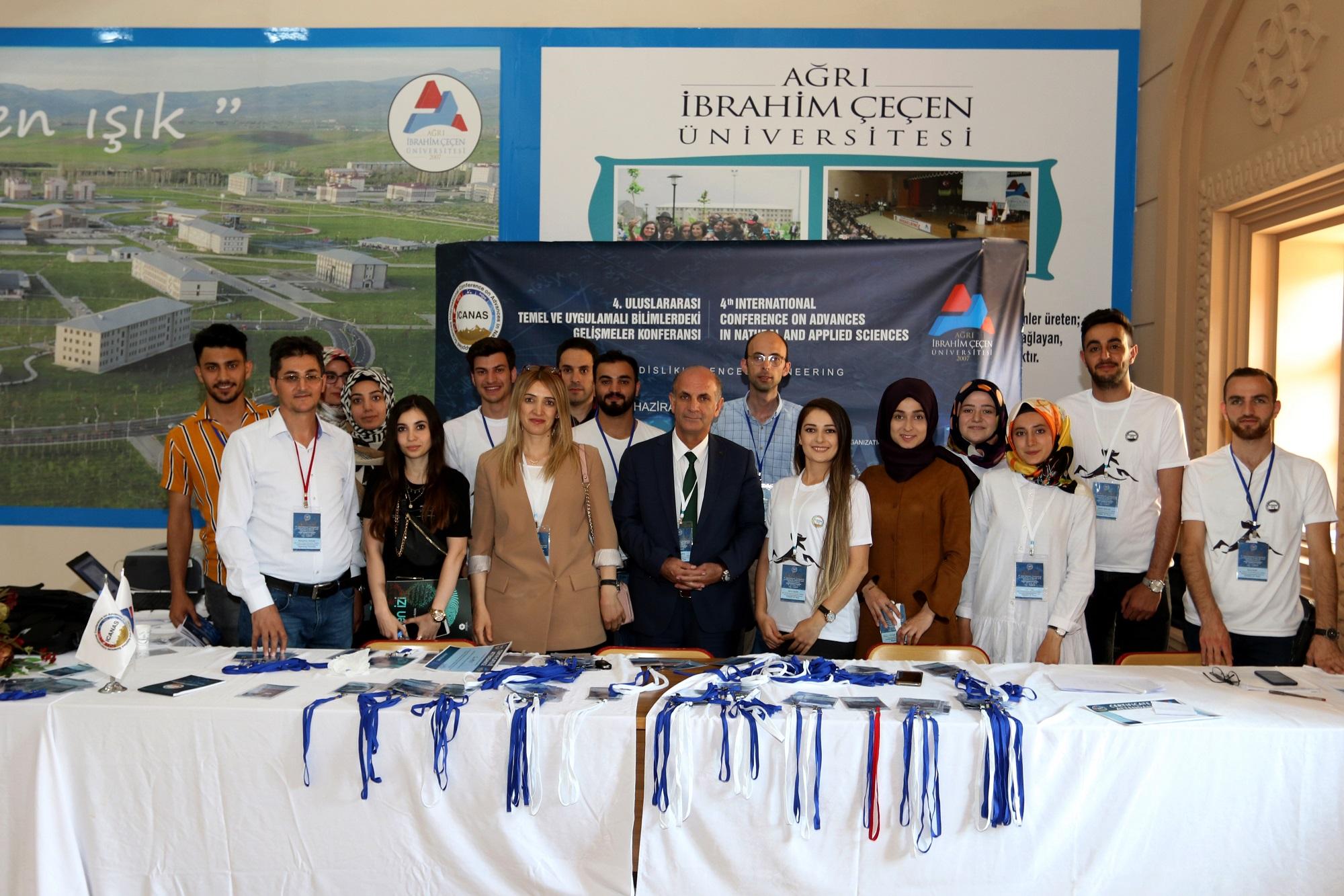 Ağrı İbrahim Çeçen Üniversitesinin bu yıl 4.'sünü düzenlediği ICANAS 2019 Sona Erdi