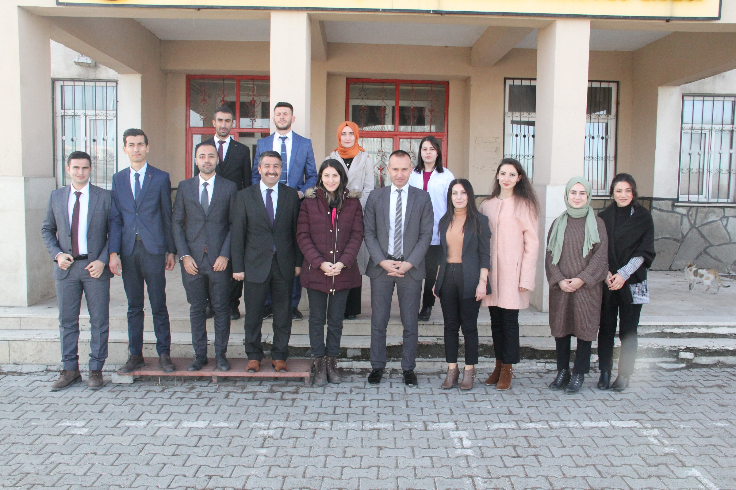Ağrı Milli Eğitim Müdürü Tekin,Eleşkirt'teöğretmenlerle bir araya geldi