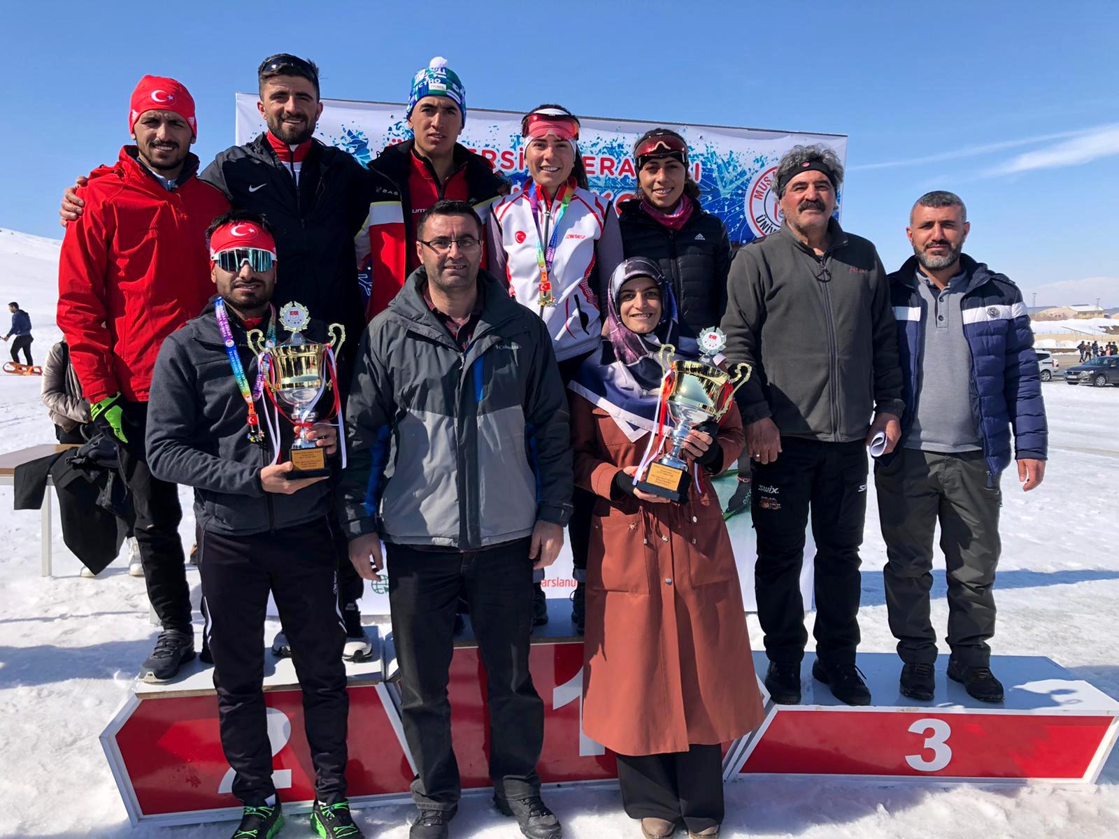 AİÇÜ'lü Öğrenciler Türkiye Şampiyonası'dan Başarıyla Döndü