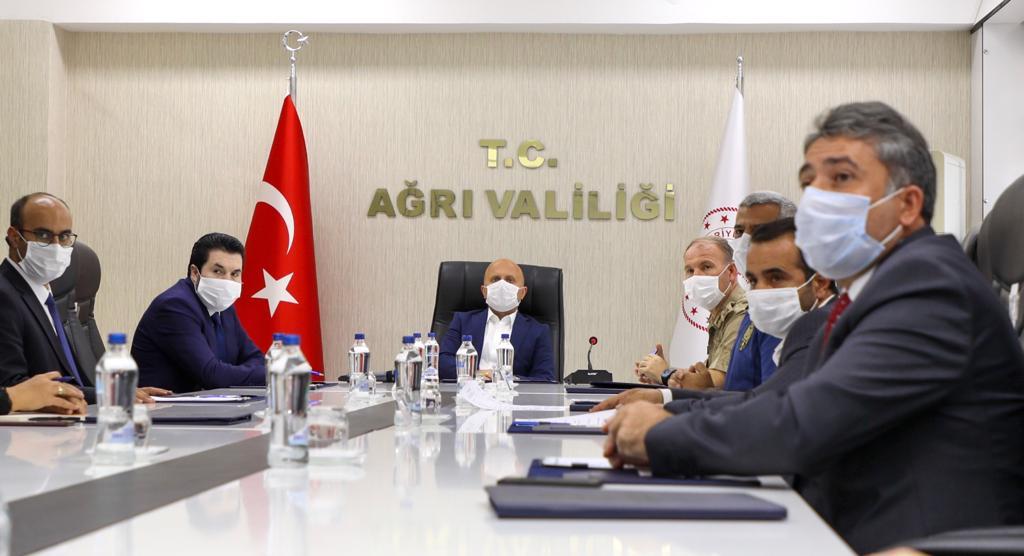 İl Spor Güvenlik Kurulu Toplantısı Vali Varol'un Başkanlığında Yapıldı
