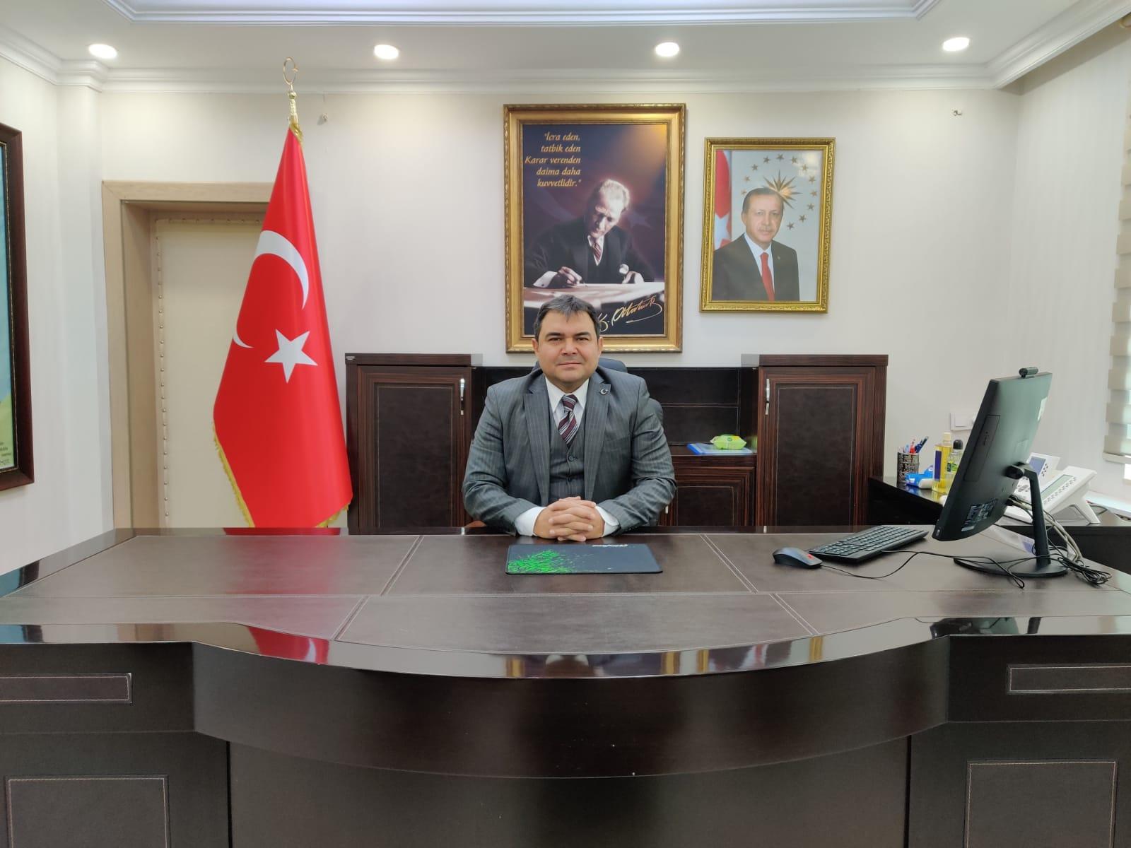 Gönüllü Kaymakam Alper Balcı Diyadin Kaymakamlığı görevine başladı.